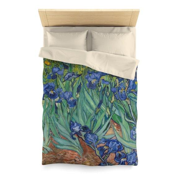 Irises, Duvet Cover, Vintage, Antique Painting, Vincent Van Gogh