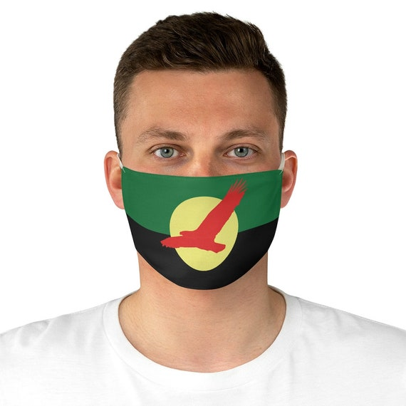 House Atreides v1, Cloth Face Mask, Washable, Reusable, Inspired From Dune, Peace Banner, Cosplay, Red Hawk, Caladan, Flag