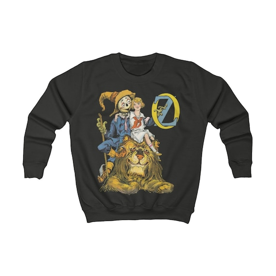 Dorothy, The Scarecrow & The Cowardly Lion, Kids Sweatshirt, Wizard Of Oz