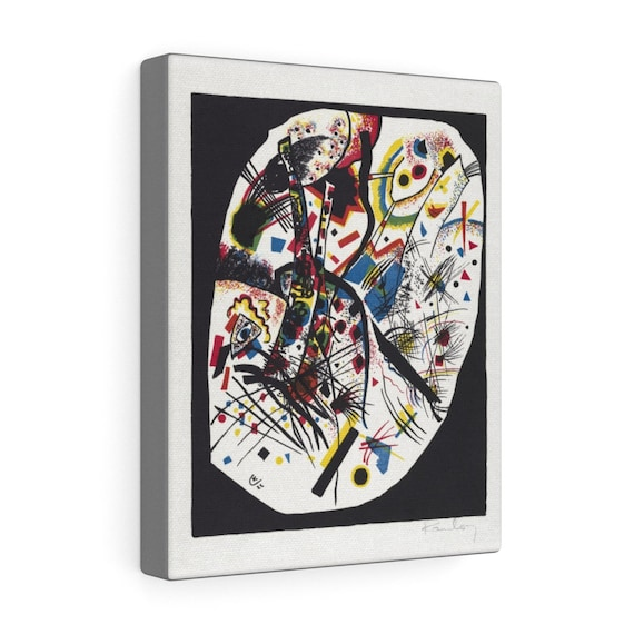 """Small Worlds #3, 8""""x10"""" Gallery Canvas, Wassily Kandinsky, Circa 1922, Abstract"""