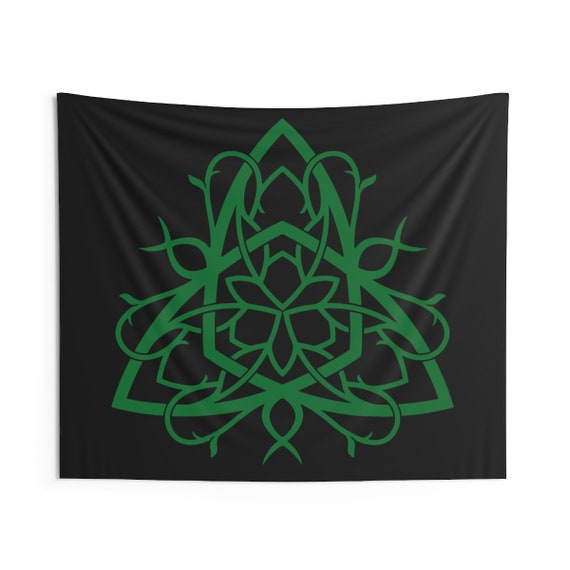 Celtic Tree Of Life Knot, Indoor Wall Tapestry, Irish, Scottish, Welsh, Wall Decor, Room Decor