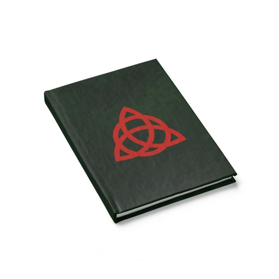 Book Of Shadows, Hardcover Journal, Ruled Line, Cosplay, Inspired By Charmed TV Series