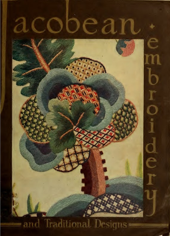 Nearly Free Vintage Embroidery Books (Vol 3), Digital Download, PDF Files, 7 Books For 35 Cents, That's 5 Cents Each!