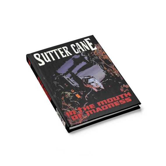 In The Mouth Of Madness, Hardcover Journal, Ruled Line, Inspired from Fictional Sutter Cane Horror Novel