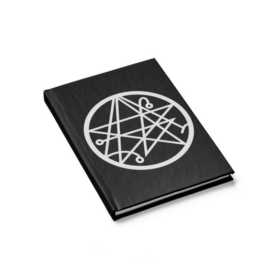 Sigil Of The Gateway v2, Hardcover Journal, Ruled Line, H.P. Lovecraft, Necronomicon