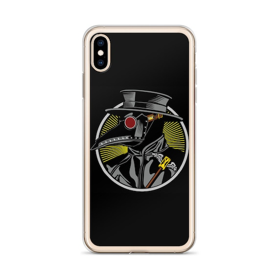 Plague Doctor, iPhone Case, Vintage Inspired Steampunk Image