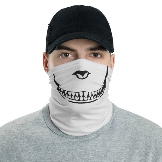 Cheshire Cat, Neck Gaiter, Inspired From Alice's Adventures In Wonderland, Headband, Bandana