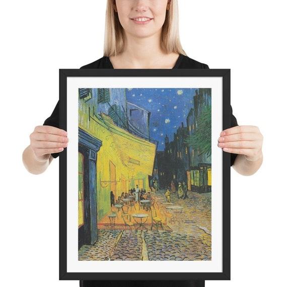 """Café Terrace At Night, 16""""x20"""" at 300 DPI Digital Image, Vincent Van Gogh"""
