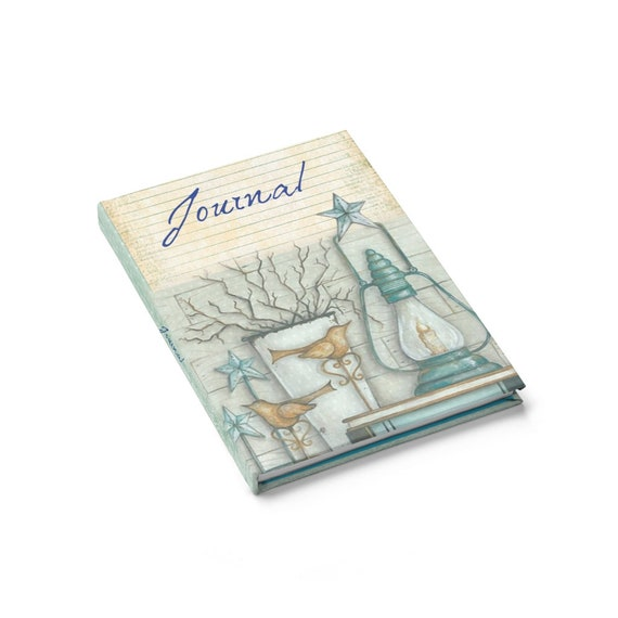 Farmhouse Theme Hardcover Journal, Notebook