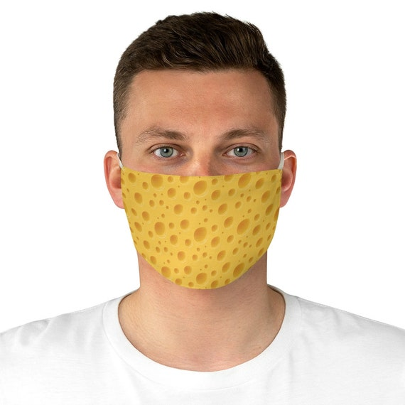 Cheese, Cloth Face Mask, Washable, Reusable, Great Gift For Your Favorite Cheese Head, Packers Fan