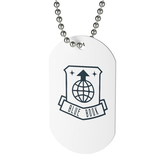 Project Blue Book, Dog Tag, Cosplay, UFO, USAF, United States Air Force