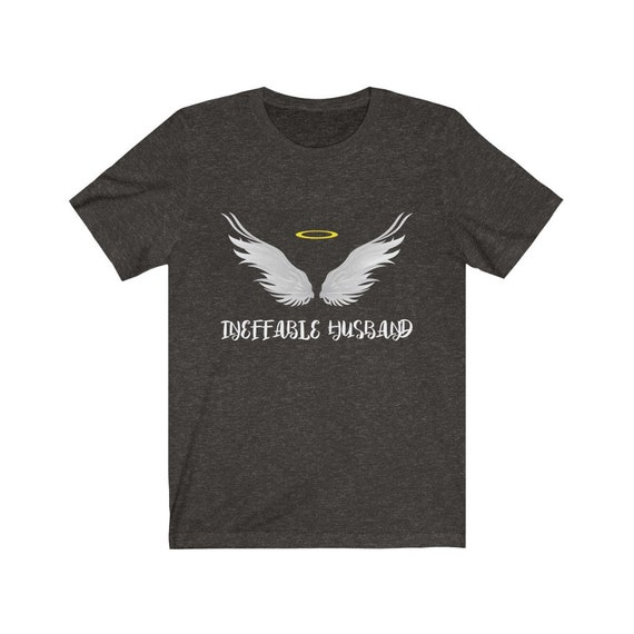 Ineffable Husband - Angel Bella+Canvas Soft T-shirt Inspired By Aziraphale, Good Omens
