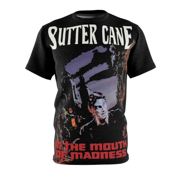 In The Mouth Of Madness, Unisex T-shirt, Inspired from Fictional Sutter Cane Horror Novel