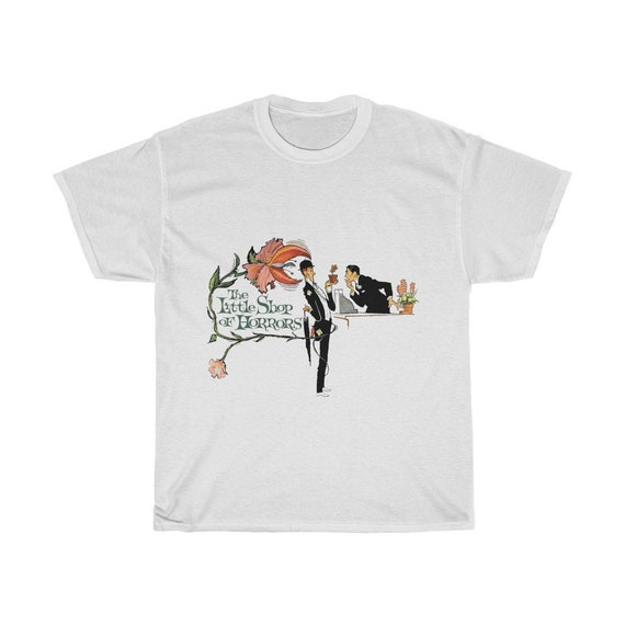 Little Shop Of Horrors, Unisex T-shirt, Vintage 1960 Movie Poster
