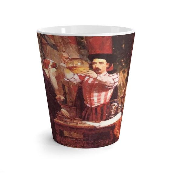 The Alchemist, 12oz Latte Mug, Halloween, Vintage Painting, William Fettes Douglas, 1853