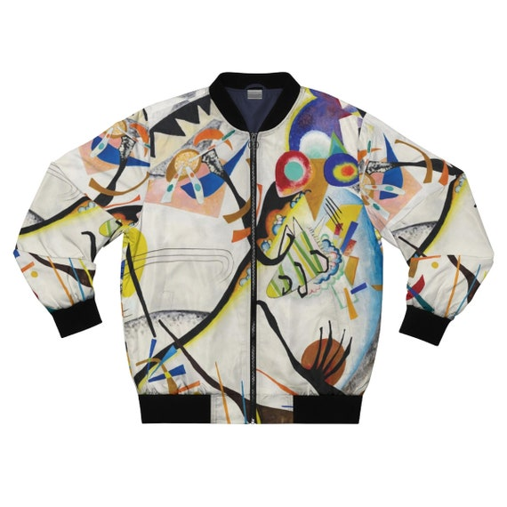 Blue Segment, Men's Jacket, Abstract, Wassily Kandinsky, 1921