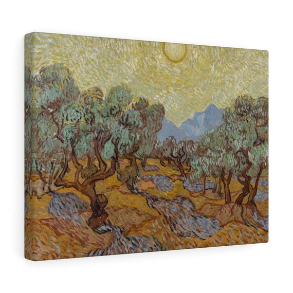 Olive Trees Canvas Gallery Wrap, Vincent Van Gogh, 1889