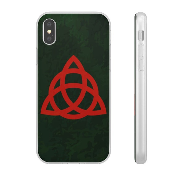 Book Of Shadows, iPhone X Series Flexi Case, Inspired By Charmed TV Series