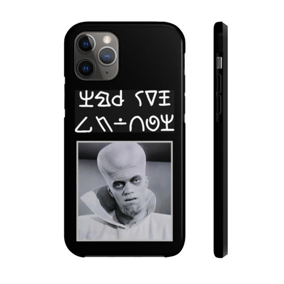 To Serve Man v2, iPhone 11 Tough Case, Twilight Zone Inspired