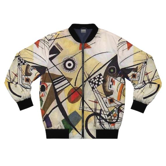 Transverse Line, Men's Jacket, Abstract, Wassily Kandinsky, 1923