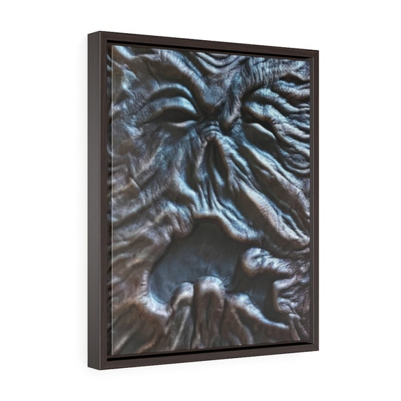 """Old Necronomicon, 16""""x20"""" Framed Gallery Wrap Canvas, Vintage Movie Book, The Evil Dead, Cosmic Horror, Lovecraft"""