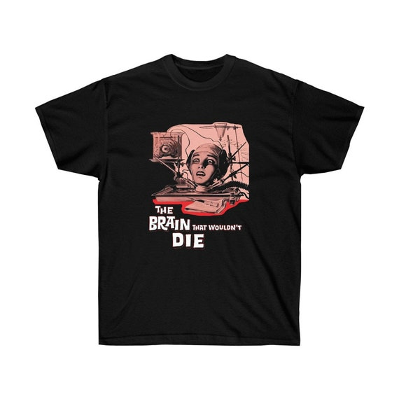 The Brain That Wouldn't Die, Ultra Cotton Unisex T-shirt, 1962 Horror Movie Poster