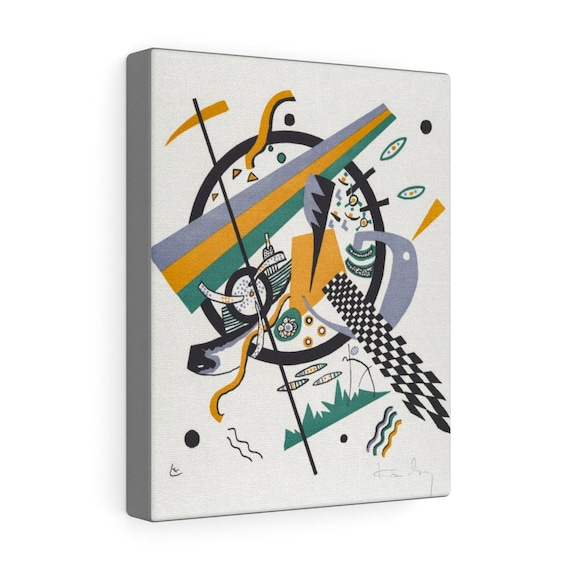 Small Worlds #4, Gallery Canvas, Wassily Kandinsky, Circa 1922, Abstract