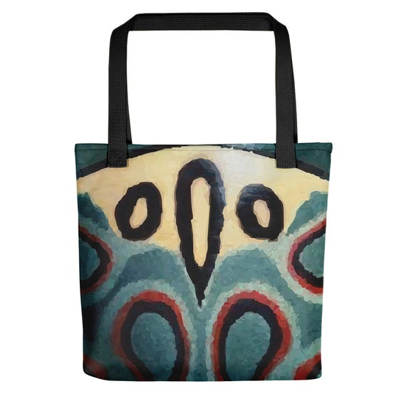 "Picasso Beetle, 15"" Square Tote"