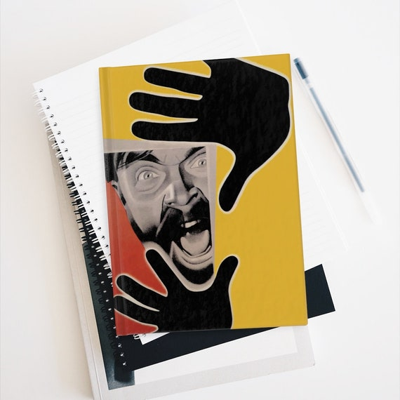 Fragment Of An Empire, Hardcover Sketchbook, Blank Pages, 1929 Soviet Silent Film Poster