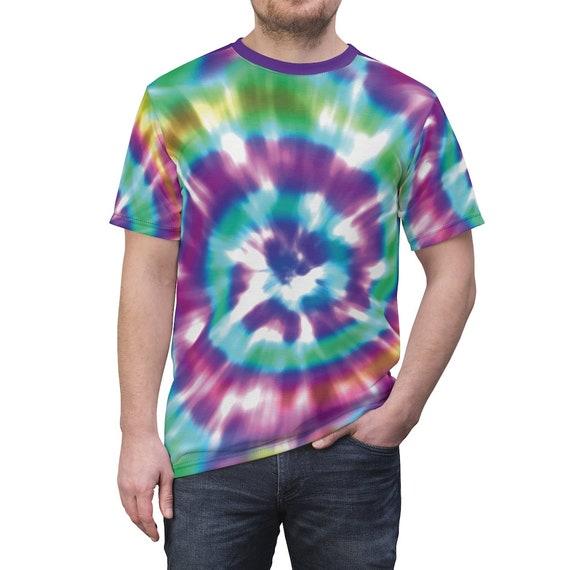 Purple Tentacle Tie Dye T-shirt