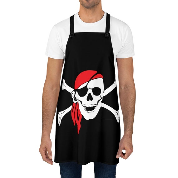 Skull & Crossbones, Cookout Apron, Pirate Flag, Jolly Roger