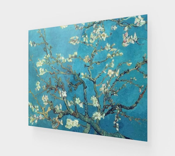 Almond Blossoms, Printed On Acrylic, Vintage Painting, Van Gogh 1890