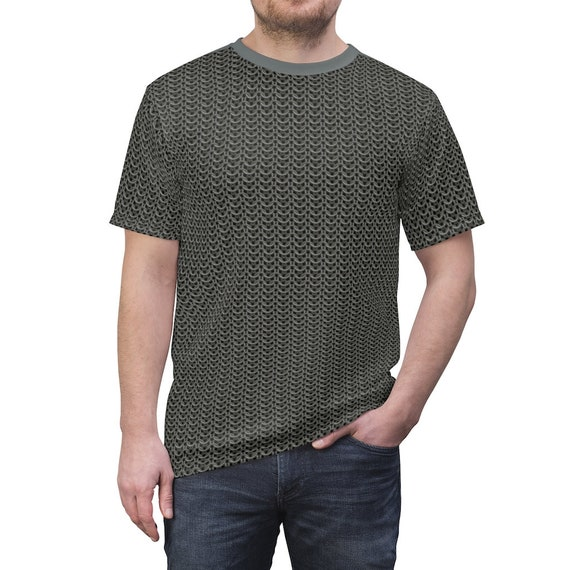 Chain mail T-shirt, AOP