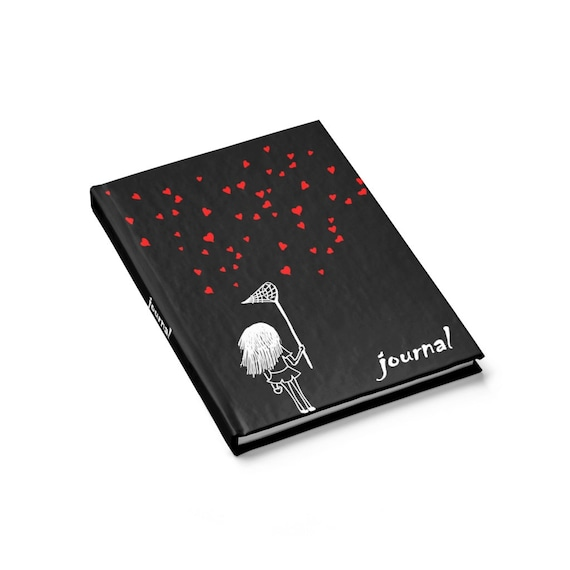 Heart Collector, Hardcover Journal, Ruled Line