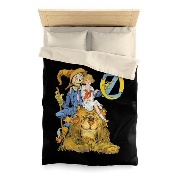Dorothy, The Scarecrow & The Cowardly Lion, Twin Duvet Cover, Wizard Of Oz