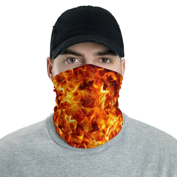 Ring Of Fire, Neck Gaiter, Headband, Bandana