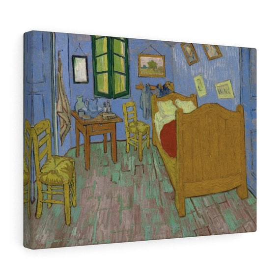 Van Gogh's Bedroom Canvas Gallery Wrap, Vincent Van Gogh, 1889