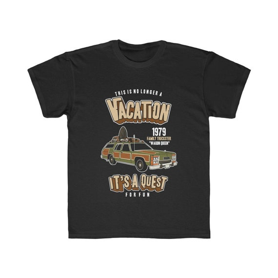 National Lampoon's Vacation, Kids Regular Fit Tee, Sizes XS to XL, Wagon Queen Family Truckster