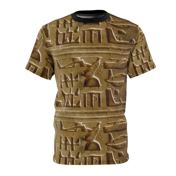 Helicopter Hieroglyphs, Unisex T-shirt, Ancient Hieroglyphs, Temple Of Seti I In Abydos