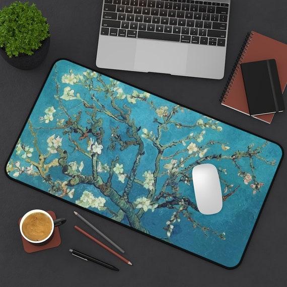 Almond Blossoms Desk Mat, Vincent Van Gogh