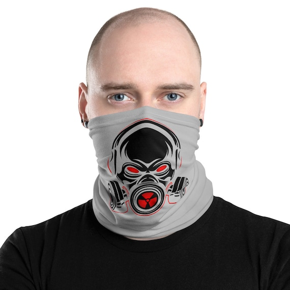 Gas Mask, Neck Gaiter, Headband, Bandana