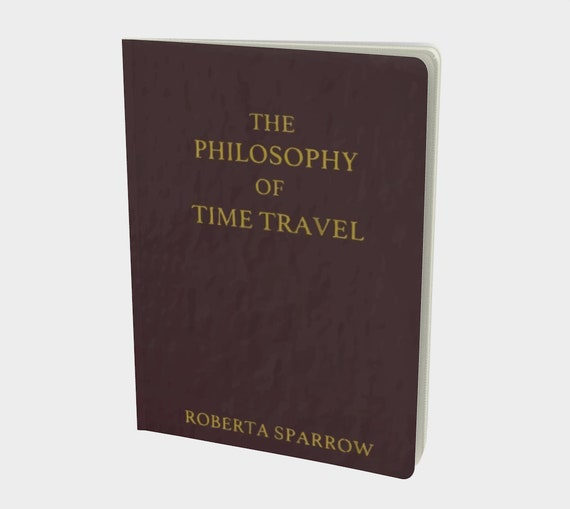 The Philosophy Of Time Travel, Large Paperback Journal, Donnie Darko Inspired