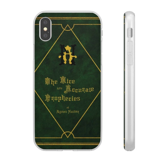 The Nice and Accurate Prophecies of Agnes Nutter, X Series iPhone Flexi Case, TV Book, Good Omens