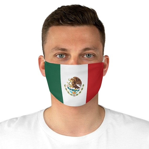 Mexican Eagle, Cloth Face Mask, Washable, Reusable, Flag Of Mexico