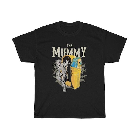 The Mummy T-shirt, Vintage Retro Style Design, Horror Movie, Pop Culture