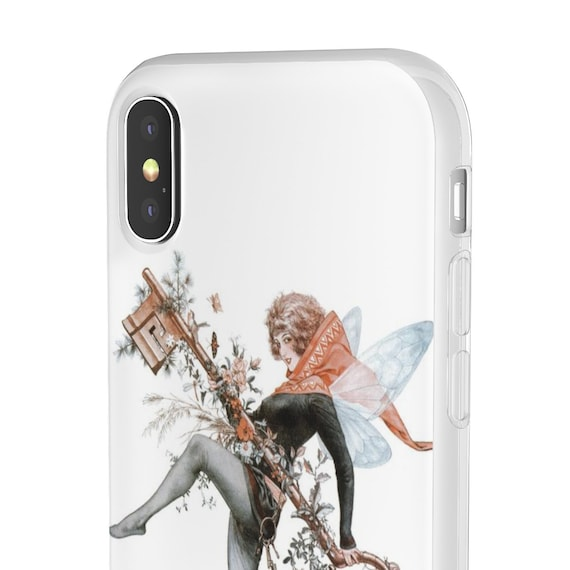 Faerie Key - iPhone Flexi Case - Vintage Illustration