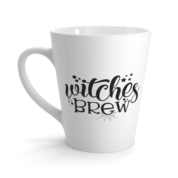 Witches Brew Latte mug, Witchcraft, Coffee, Tea