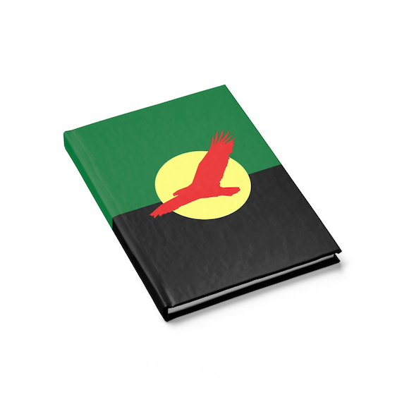 House Atreides v1, Hardcover Journal, Ruled Line, Inspired From Dune, Cosplay, Red Hawk, Caladan, Banner, Notebook
