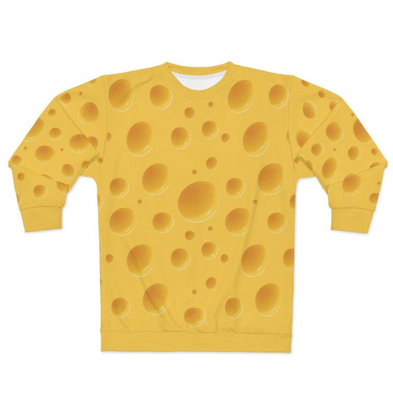 Cheese Sweatshirt For Your Green Bay Packers Super Bowl Party! For a Cheesehead!, AOP
