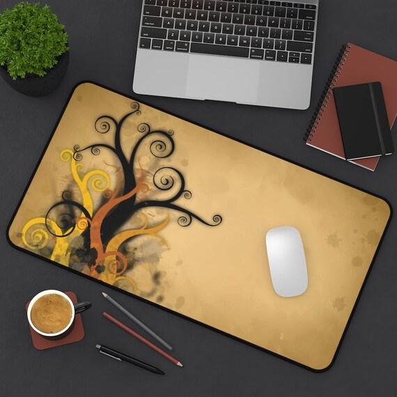 Art Nouveau Forest, Desk Mat